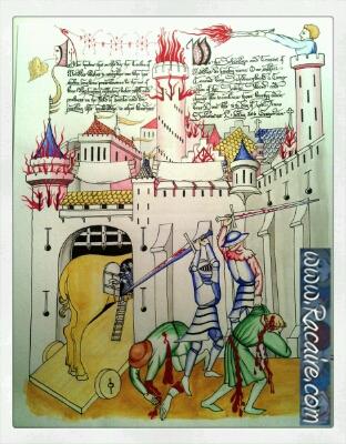 2016-04_Racaire_scrolls_calligraphy_sable-sword