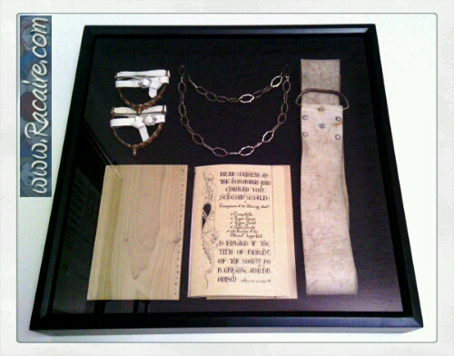 2017-04_Racaire_Conrads-knighting_vigil-book_shadowbox