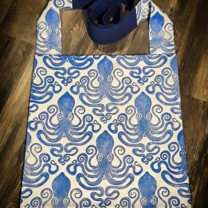Bag with octopus print