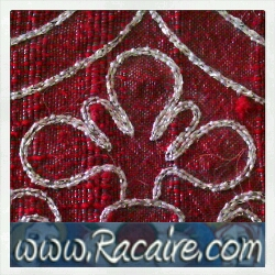 2015-07 - Racaire - 14th century - surface couching embroidery - medieval embroidery - hand embroidery