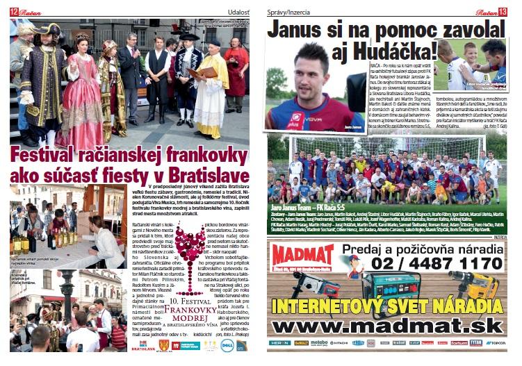 Reportáž z festivalu frankovky a zápasu Jaro Janus Team - FK Rača