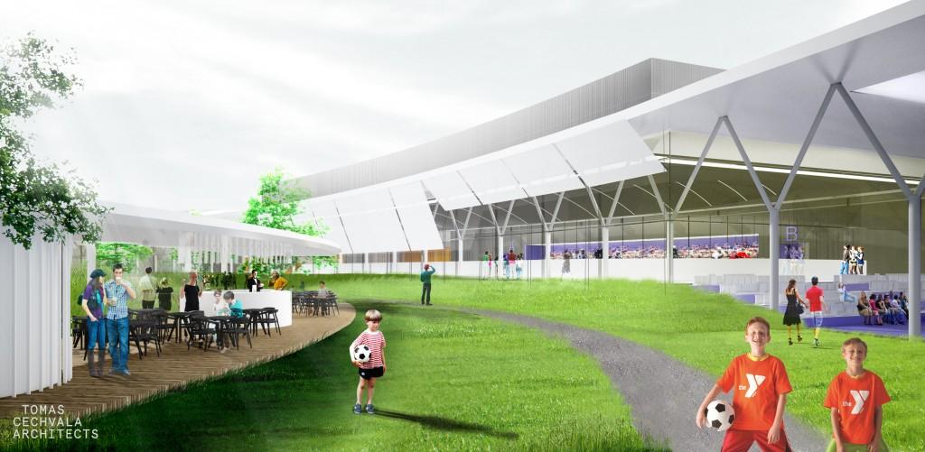Projekt SAR: Pred hokejovou halou a plavárňou má vzniknúť nová promenáda.