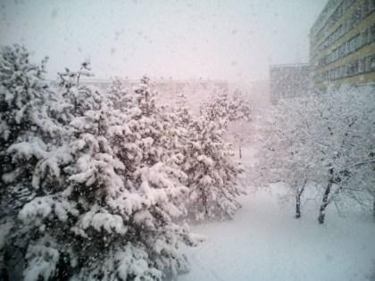 Silné sneženie je nielen v Rači, ale v celom kraji