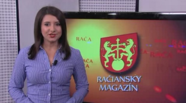 Račiansky magazín v TV Bratislava pripravuje Silvia Šeptáková.