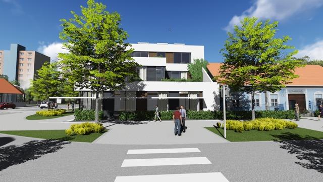 Vizualizácia Polyfunkčnej budovy