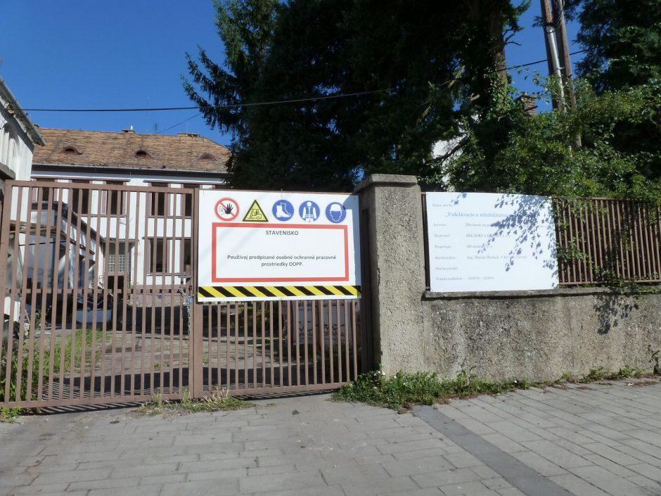 Vzdelávaco-rehabilitačné centrum Bivio vznikne v areáli bývalej umeleckej školy, ktorá patrila evanjelickej cirkvi.