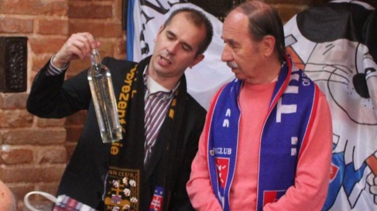 Slávny futbalista Slovana Ivan Hrdlička