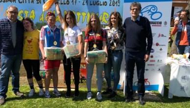 Matilde Vitillo terza a cronometro