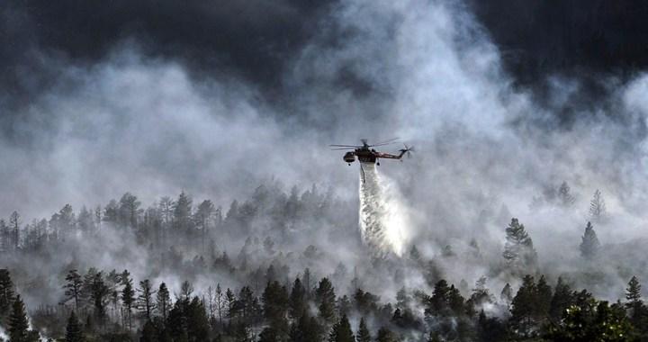 Incendi in Abruzzo in fumo 120 ettari di terra