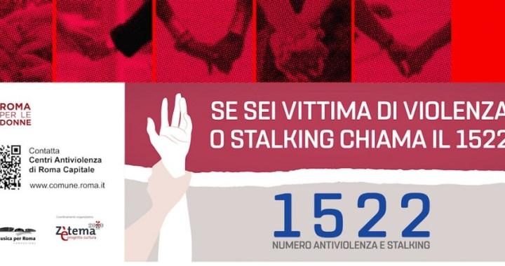 Roma promuove i servizi antiviolenza