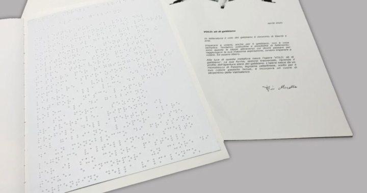 """Fulvio Morella: il libro d'artista in braille """"VOLO"""""""