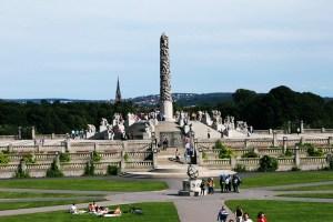 Parco di Vigeland oasi di sculture umane