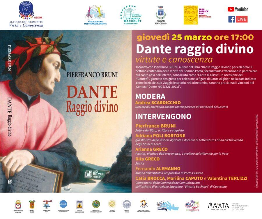 Porto Cesareo: settimo Centenario di Dante Alighieri