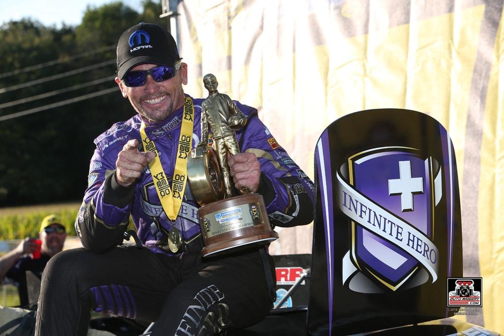 Fast Jack Beckman Wins 2019 Mopar Express Lane NHRA Nationals Presented By Pennzoil