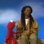Elmo and Whoopi chat about race