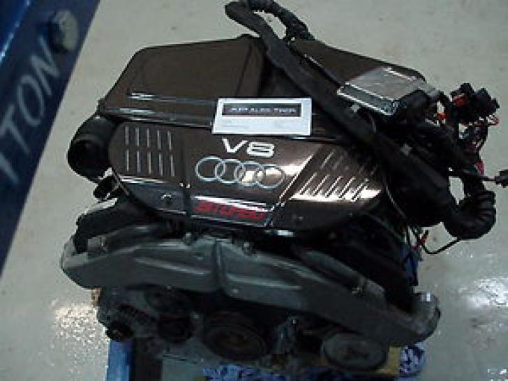 Engine Complete Amp With Loom Amp Ecu Rs6 C5 4 2 V8 Bi Turbo