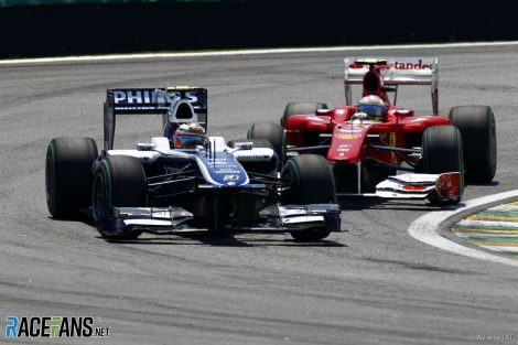 Nico Hulkenberg, Williams, Interlagos, 2010