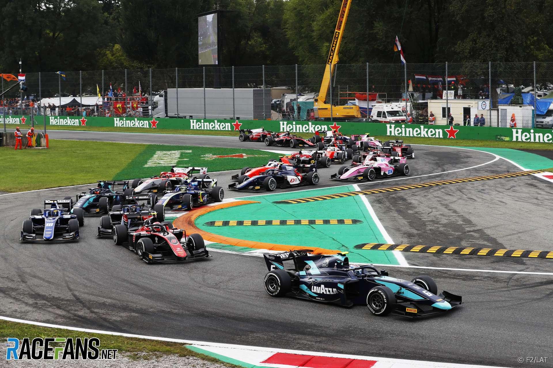 La f1 sbarca a monza e torna la sprint race dopo il debutto. Start F2 Sprint Race Monza 2018 Racefans