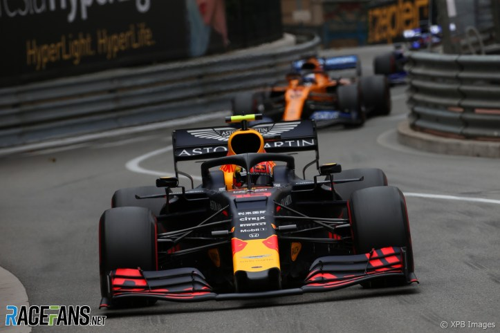 Pierre Gasly, Red Bull, Monaco, 2019