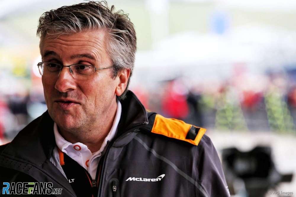 Pat Fry, McLaren, 2018