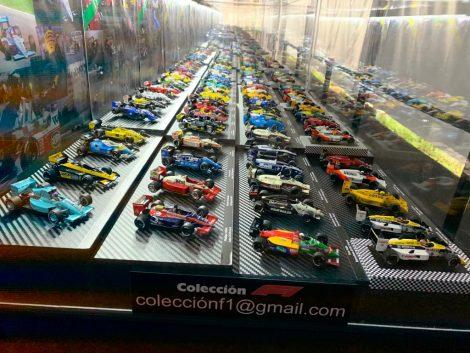 Rafael Gisholt's model F1 car collection