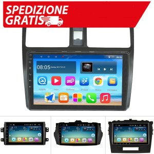 Autoradio Android per Suzuki SX4 Suzuki Grand Vitara 2008 Suzuki Swift Wifi Bluetooth GPS AM/FM