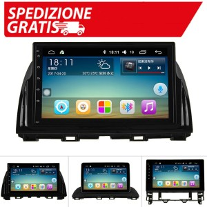 Autoradio Android per Mazda CX-5 Mazda 3 2010 Mazda 6 1G RAM 16G ROM Build-in WIFI