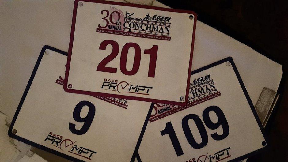 Bahamas Race Bibs