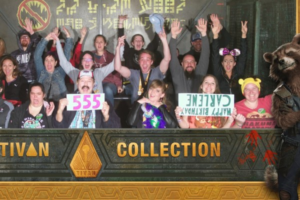 Carlene's Birthday at Guardians, Racers and Club 33
