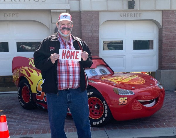 Jon Hale back in Cars Land
