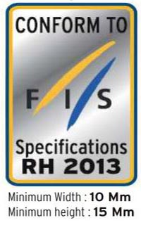 Manufacture date of the race ski helmet does not matter, as long as it has this FIS RH 2013 sticker, it is approved for use. This sticker shows that it is certified that this helmet meets the regulations for USSA and FIS ski racing. All U14 and older racers must wear a helmet with the FIS RH 2013 certification sticker.