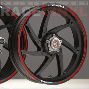 Rim Stickers kit for Honda