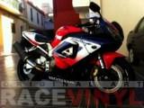 Honda CBR 954 RR Blue Race CBR 900 RR Javier