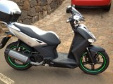 Kymco Agility 125 with Standard Stripes in Green Fluor