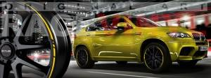 Racevinyl BMW 1 3 5 7 6 8 m3 m5 x5 x3 vinilo vinyl amarillo