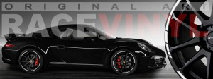 Racevinyl Porsche 911 carrera s cayenne panamera boxter vinilo negro