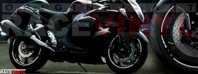 Suzuki Hayabusa generico cromado