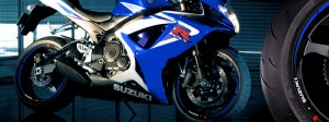 Suzuki GSXR 600 Race azul