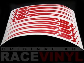 muestra adhesivos spire racevinyl