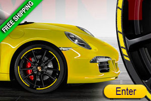 Speed Rim Car Stripes