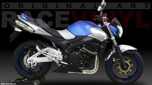Racevinyl SUZUKI GSR 600 750 02 vinilo pegatina adhesivo llanta tuning moto rueda bandas stripe rim vinyl sticker stripes bike wallpaper