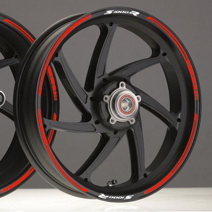 Bandas BLADE BMW S1000R S 1000 R HP2 HP4 adhesivo pegatina vinilo llanta rueda moto sticker vinyl rim stripe