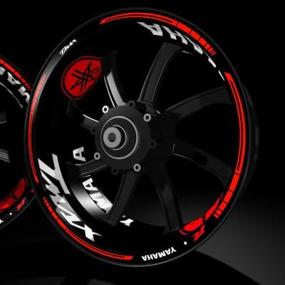 modelos kit pro Yamaha TMAX pegatina llanta rueda moto vinilo adhesivo tuning rim sticker kit stripes wheel motorcycle vinyl racevinyl