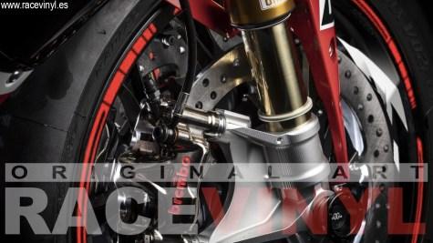 Rim stickers Yamaha YZf R1 2019 Kit PRO front wheel