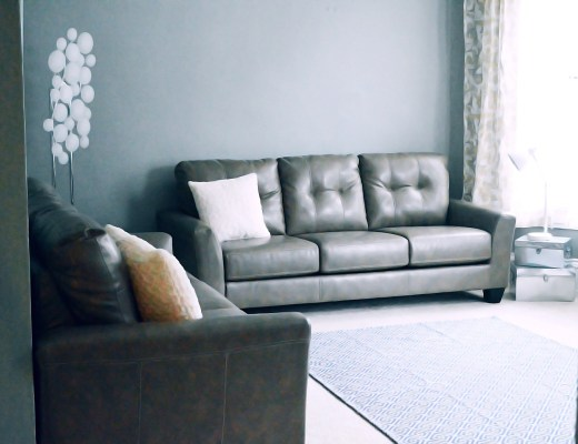 How to update your living room for spring with lifestyle blogger Rachael Burgess.