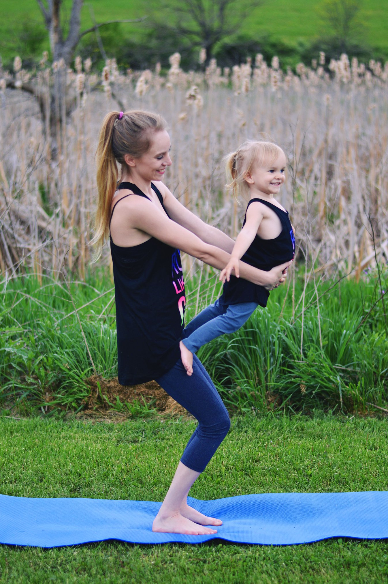 Mommy and Me Yoga Tips - Rachael Burgess