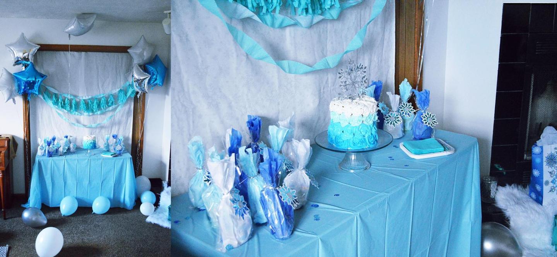 Diy Frozen Party Easy Amp Beautiful Frozen Cake Frozen