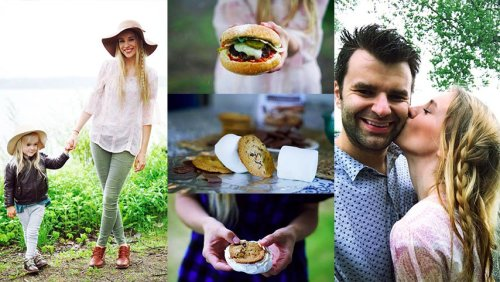 Best BBQ Chocolate Surprise S'mores Best Beach BBQ Burger by Rachael Burgess