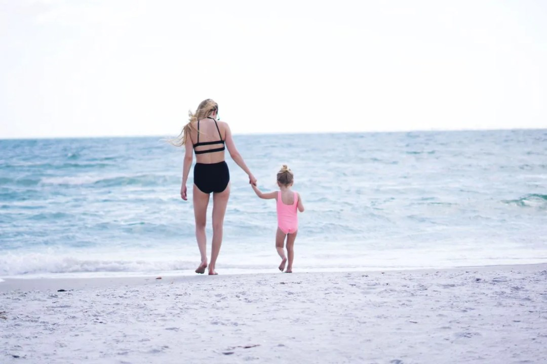 Treasure Island Beach & 17 Things About April by Rachael Burgess