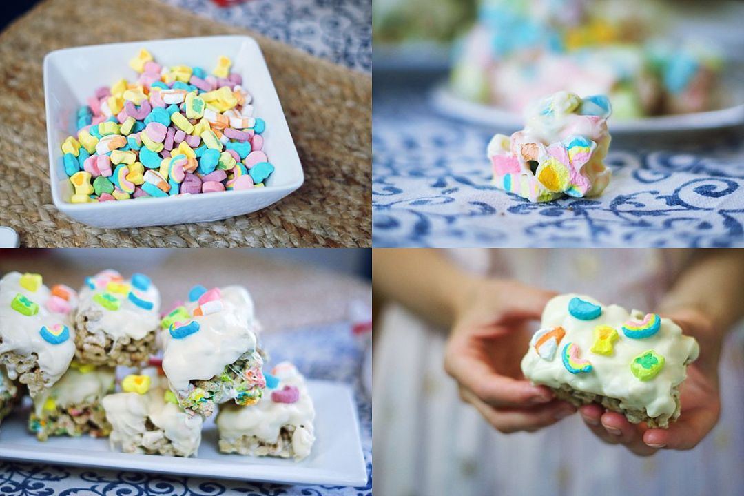 Two 5 Minute Recipe with Lucky Charms Recipes & Memories by Rachael Burgess
